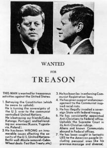 Flyer created by the John Birch Society